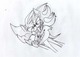 request uncolored lineart unfinished by Mephew-J