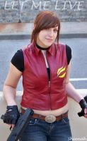 Claire Redfield Darkside ID by Sheenah