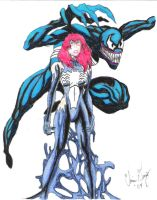 She venom Mary Jane by Cd1981