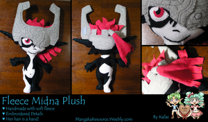 Midna Fleece Plush by Kafae-Latte