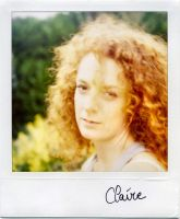 Claire ... In the Garden by philcopain