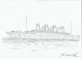 RMS Olympic by Admiral-Kevin