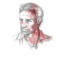 Quick Sketch - Rick Grimes by InvisibleRainArt