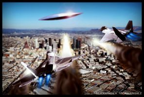 Battle of Los Angeles by android2063