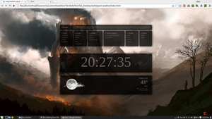 NewTab Desktop + Weather by SuprVillain