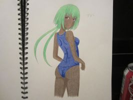 Swimsuit Emerald ! by XxSgtCampbell