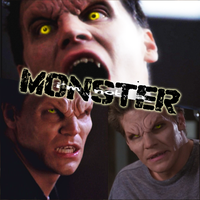 Not a monster by Spaulding--x