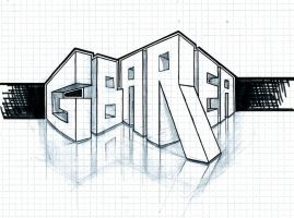 GBArea Logo Sketch by bra1n