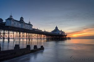 Eastbourne Pier at Sunrise by sussexvistas