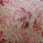 Red Gold Floral Background by Enchantedgal-Stock