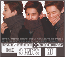 Chanyeol (EXO) - PACK PNG#01 by JeffvinyTwilight