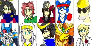 I Did It Again!! MORE FAVORITE CHARACTERS!! by YamiNetto