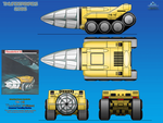 Thunderbird 16 (TB-16) Unmanned Tunneling Vehicle by haryopanji
