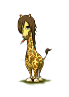 Giraffe by takeclaire