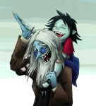 Simon and Marcy Laughing ~ coloured by WaterLily-95