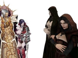 Difference of Carmillas by Malefor666