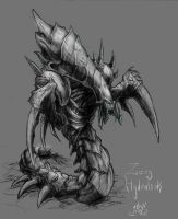 Starcraft - Hydralisk again by atryl