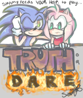 SonAmy plays Truth or Dare by Tust