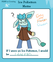PKMNocC: Glaceon Emmy by Cocoafox895