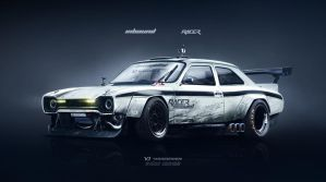 Ford Escort MKI Inbound Racer by yasiddesign