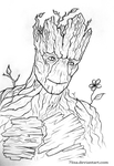 I am Groot by 7Lisa