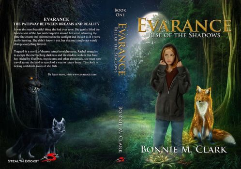 Book Cover - Evarance - Rise of Shadows by ThelemaDreamsArt