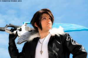 Squall Leonhart by DrawenZzZz