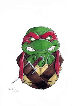 Raph bust by camillo1988