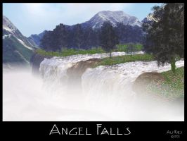 Angel Falls by Casperium