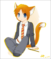 HP : Ron Weasley goes neko by shadowmyboyfriend