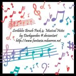 Scribbles 4: Musical Notes by darkgarden