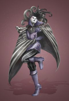Character design challenge, Venice Carnival by AutomneBlue