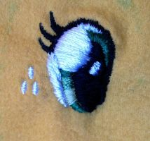 AJ Embroidery Detail 1 by equinepalette