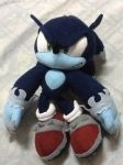 Sonic The Werehog Plushie by tanlisette
