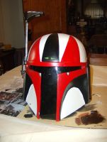 My Mando Helmet by tk8247