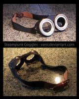 Steampunk Goggles by varsi