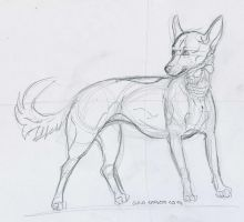 Venetian teapup sketch by ForeignFrontierRanch