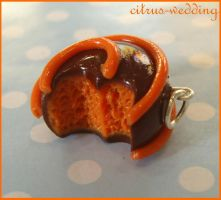 orange creme chocolate charm by citruscouture