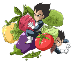 Vegetables by MamaCharms