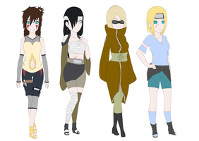 Naruto adoptable batch 3 by Nyoko-Hime-Chan