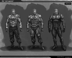 Sid suit Armour  options by steven6