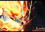 Fairy tail 326 : Lightning flame dragon mode by Kasukiii