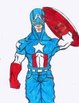 Captain America by finalknight0x3