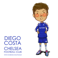 Diego Costa ChelseaFC By thunazii by Thunazii