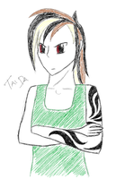 Tai is displeased. by Magic92