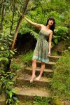 Louise - green dress 2 by wildplaces