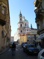 Prague - The main street by someoneabletofindana