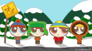 South Park-Powerpuff Boys Now! by JS-Coach