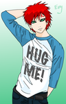 Give him a hug by Sorceress2000