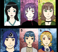 Naruto Adopts by halogirl237
